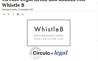 Círculo Legal firma una alianza con Whistle B