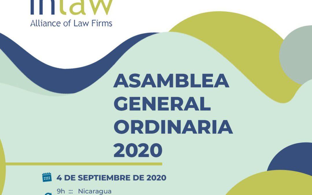 Asamblea Anual de INLAW: en septiembre se celebró la asamblea general ordinaria de 2020